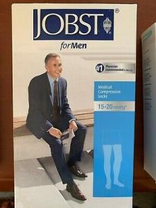 Jobst Thigh High Men 20-30mm Black Medium - Click for more info