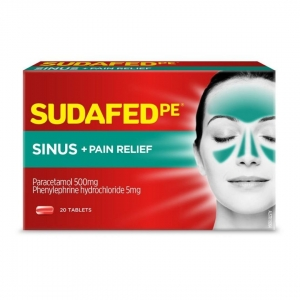 Sudafed Pe Sinus - Pack 24 - Click for more info