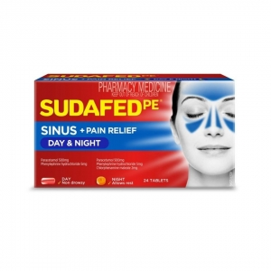 Sudafed Pe Day + Night Relief - Pack 24 - Click for more info