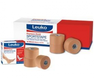 LEUKO SPORTSTAPE PREMIUM PLUS - RIGID 3.8cm x 13.7m (76015_Box30 Box 30)