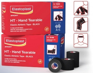 Elastoplast Sport Black Hand Tearable 7.5cm x 3.5m - Click for more info
