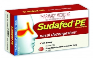 Sudafed Pe Nasal Decongestant - Pack 48 - Click for more info