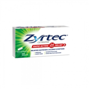 Zyrtec 10mg Tablets - Pack 50