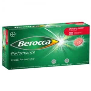 Berocca Performance Original Berry Tablets - Pack 30 - Click for more info