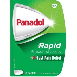 Panadol Rapid Handy Caplets - Pack 10 - Click for more info