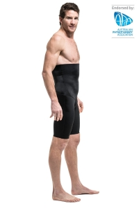 Surgiheal Mens Shorts High Waist Black Small - Click for more info