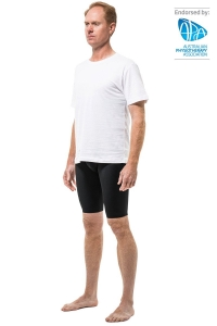 Surgiheal Mens Shorts Regular Waist Black - Click for more info