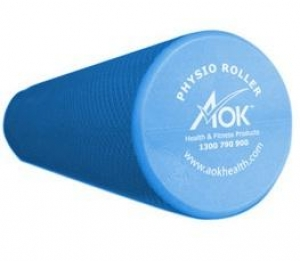 ROUND FOAM ROLLER, BLUE by AOK (15cm diameter) - Click for more info