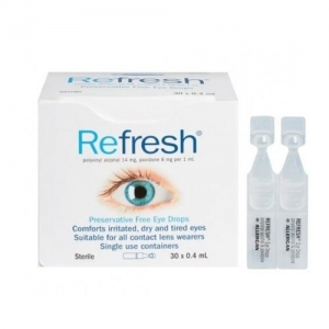 Refresh Eye Drops 0.4ml Vials - Click for more info