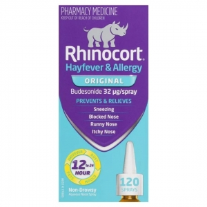 Rhinocort Aqua SPRAY 32mcg - 120 Doses - Click for more info