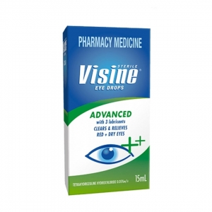 Visine Advanced Relief Eye Drops - Click for more info