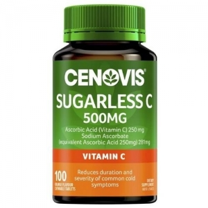 Cenovis Vitamin C 500mg - Pack 100 - Click for more info