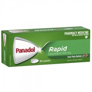 Panadol Rapid Caplets - Pack 40