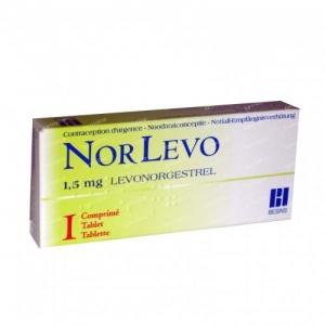 Norlevo-1  1.5mg Tablets