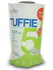 Tuffie Cleaning And Disinfecting Wipes Refill 150
