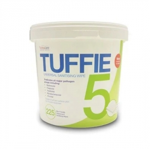 TUFFIE DETERGENT WIPES TUB 225 - Click for more info