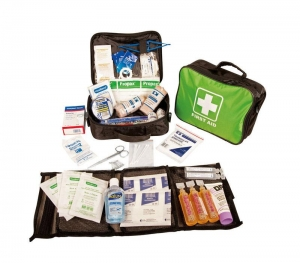 FIRST AID KIT ALPHA JUNIOR SPORTS SOFT CASE - Click for more info