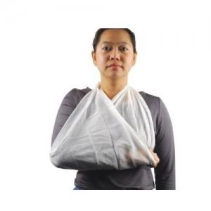 Triangular Bandage Calico 110cm x 110cm x 150cm - Click for more info