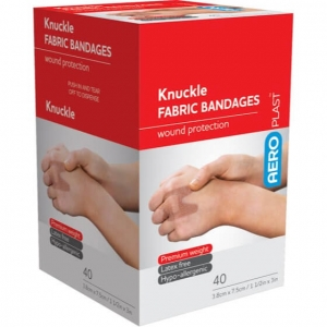 Aeroplast Fabrick Knuckle Dressing - Box 40 - Click for more info