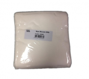 Cello NON-WOVEN WHITE BED SHEETS- Box 50 - Click for more info