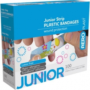 Aeroplast Junior Plasters - Box 100