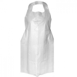 DISPOSABLE PLASTIC APRON (WATERPROOF) - 71cm x 132cm (Sold individually) - Click for more info