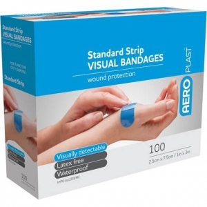 AEROPLAST VISUAL STRIPS - Box 100 - Click for more info