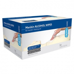 Mini Live Alcohol Swab - Box 100 - Click for more info