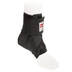 Wraptor Ankle Stabilizer With Standard Laces - Black