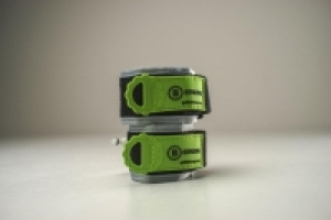 B Strong Bands Size #1 Green - 1 Pair