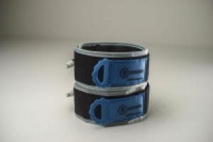 B Strong Bands Size #3 Blue - 1 Pair