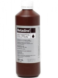 BETADINE ANTISEPTIC SOLUTION - Click for more info