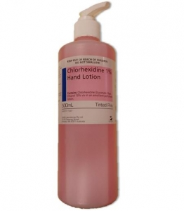 Chlorhexidine 1% Hand Lotion Pump 500ml