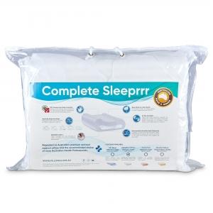 Complete Sleeprrr Memory Pillow Original Soft Density - White