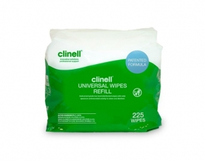 Clinell Universal Wipes Refill 225