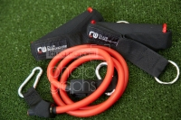 CW Exercise Tubing Red Heavy (With Door Anchor & Pair Handles) - Click for more info