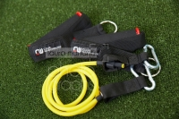 CW EXERCISE TUBING Yellow extra light & pair handles - Click for more info