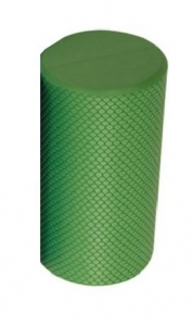FOAM ROLLER ROUND SMALL  GREEN 14.5 x 30.5cm - Click for more info