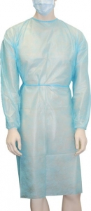 Long Sleeve Examination Gown - Click for more info