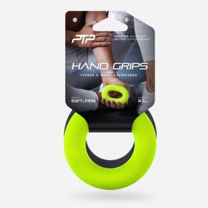 Hand Grip Loops Black & Lime