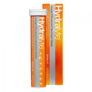 HYDRALYTE TABS, ORANGE-Tube - Click for more info