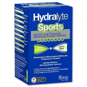 Hydralyte Sports Lemon/Lime Sachets - Pack 12