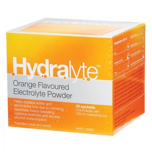 Hydralyte Orange Powder 5g Sachets - Box 10