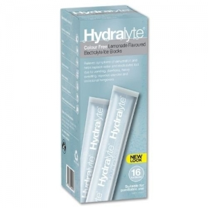 Hydralyte Lemonade Ice Blocks - Pack 16