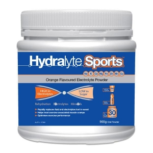HYDRALYTE SPORT TUB 900G ORANGE - Click for more info