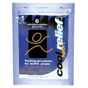 Cool Relief Sport GEL PATCHES  - Packet 6 - Click for more info