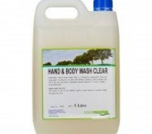 Kwikmaster Hand And Body Wash Clear 5 Litre