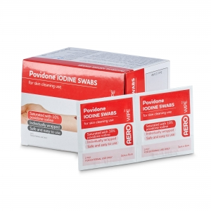 Povidone Iodine Pads - Click for more info