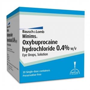 Minims Oxybuprocaine - Box 20