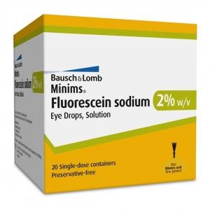 Minims Fluorescein - Box 20